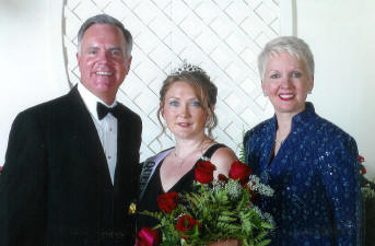 Founders Of Celebrating Home, Steve And Penny Carlile With Deb Goodridge,  July 2005